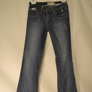 Baby Phat Light Destressed Jeans Size 3 Nice